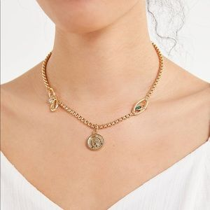 Urban Outfitters Gold Chain Necklace
